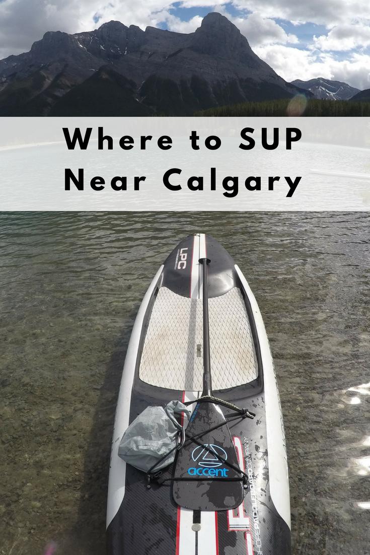 Play Outside Guide | Where to SUP Near Calgary