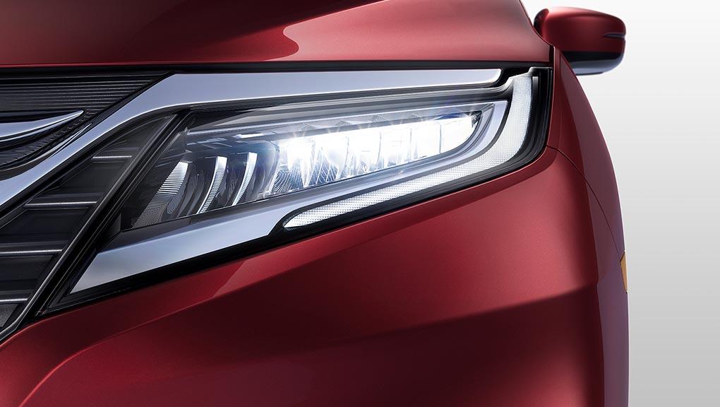 2018 Honda Odyssey LED Headlights