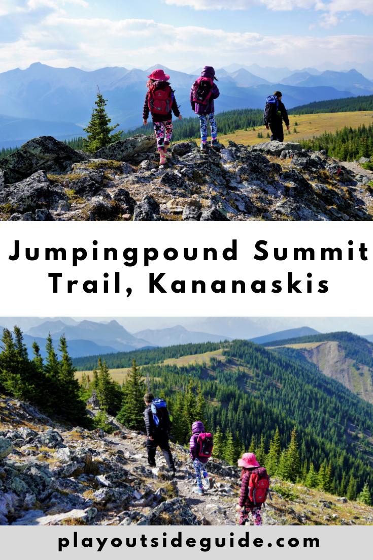 Jumpingpound Summit Trail, Kananaskis