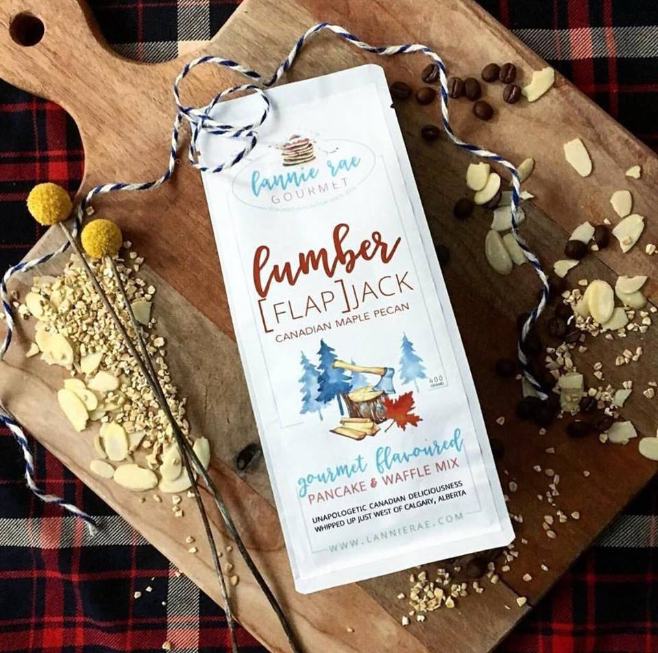 Lannie Rae Gourmet Pancake and Waffle Mix