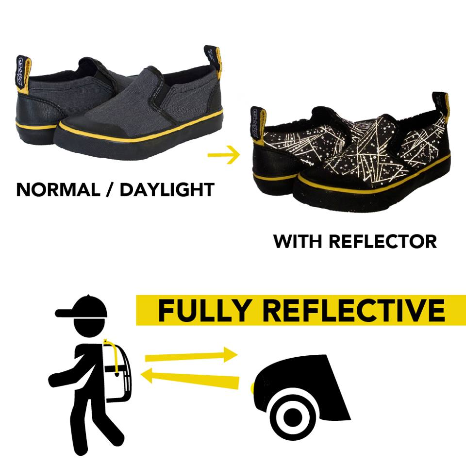 How Zapped Outfitters reflective patterns work