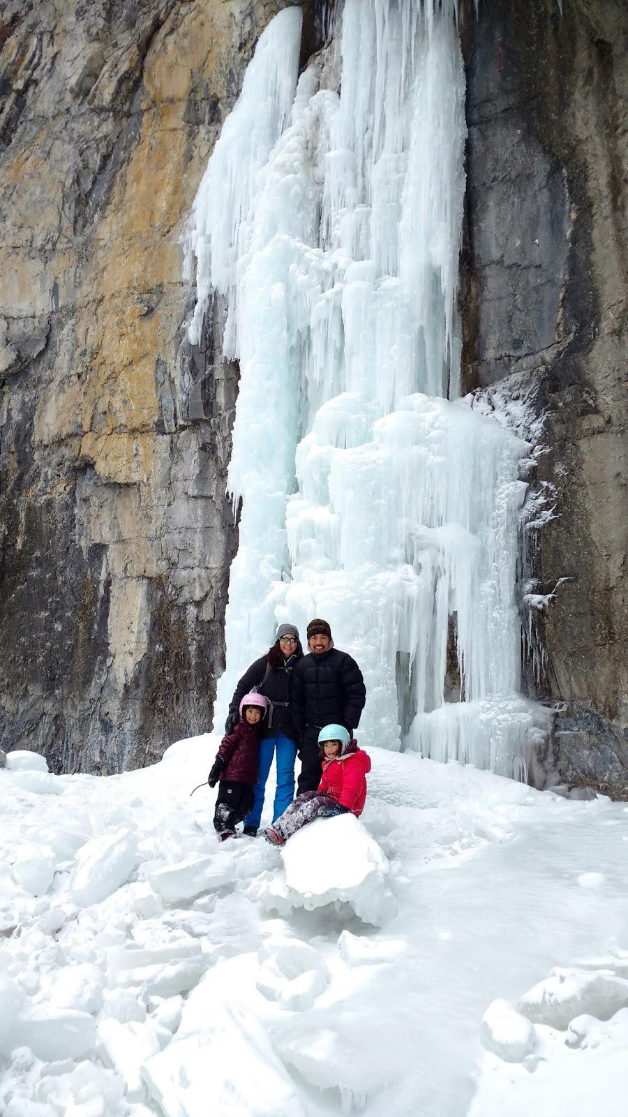 Grotto Canyon Ice Walk, Kananaskis