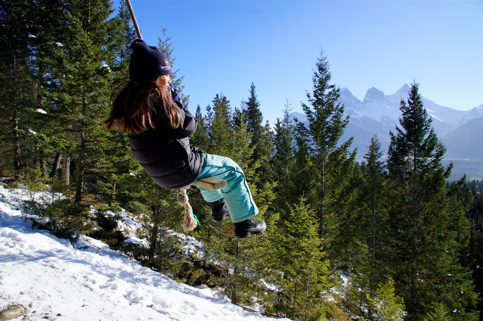 Canmore Rope Swing
