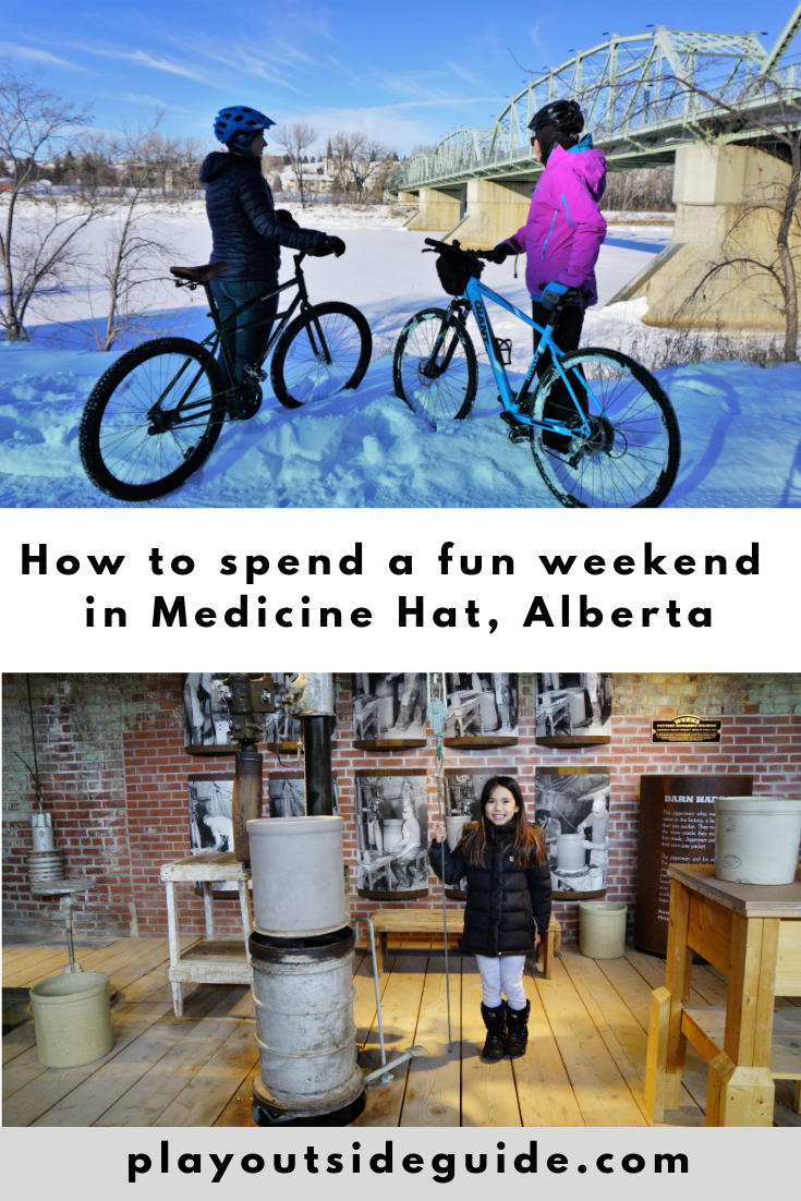 How to spend a fun weekend in Medicine Hat pinterest pin