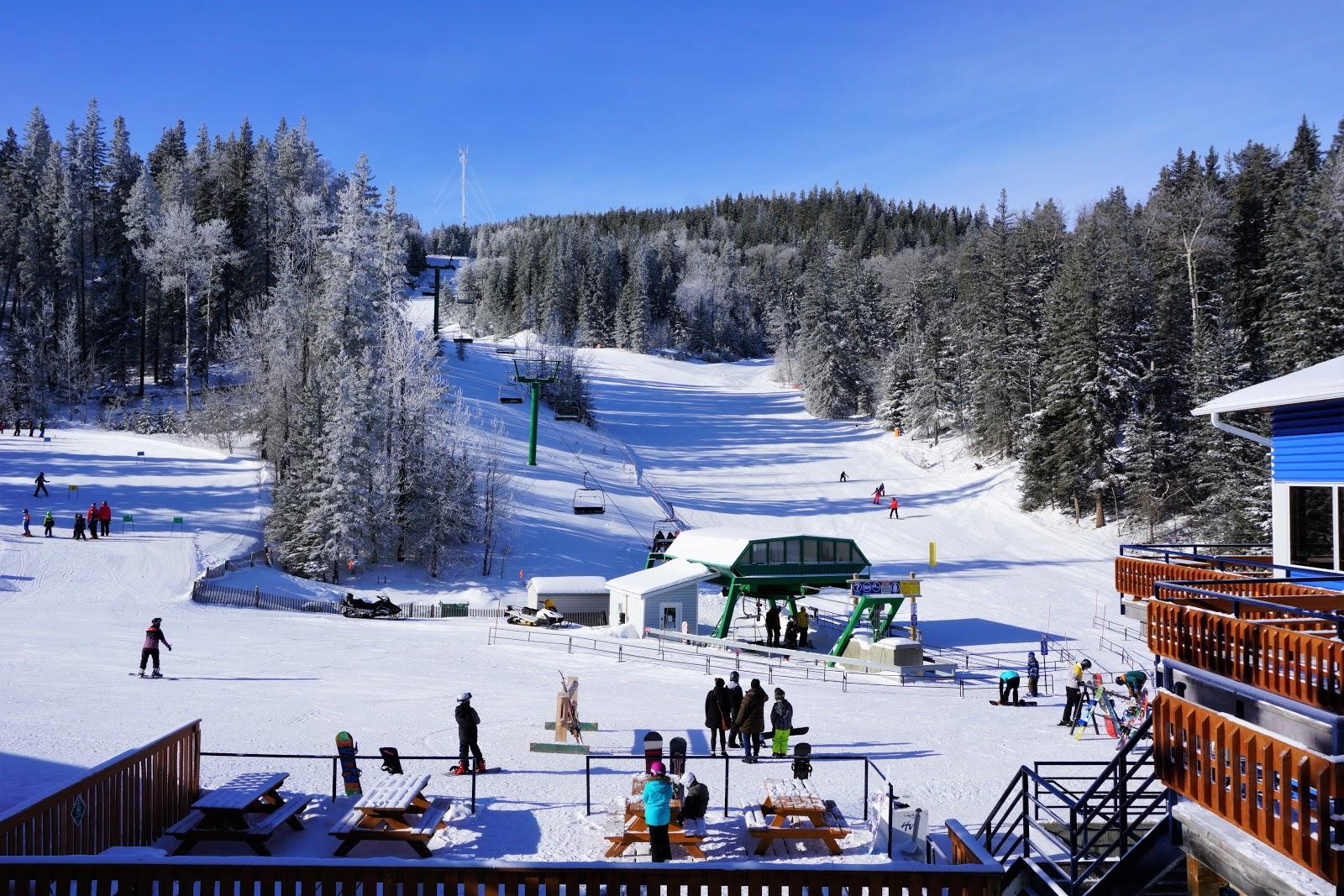 Hidden Valley Ski Resort Base Area