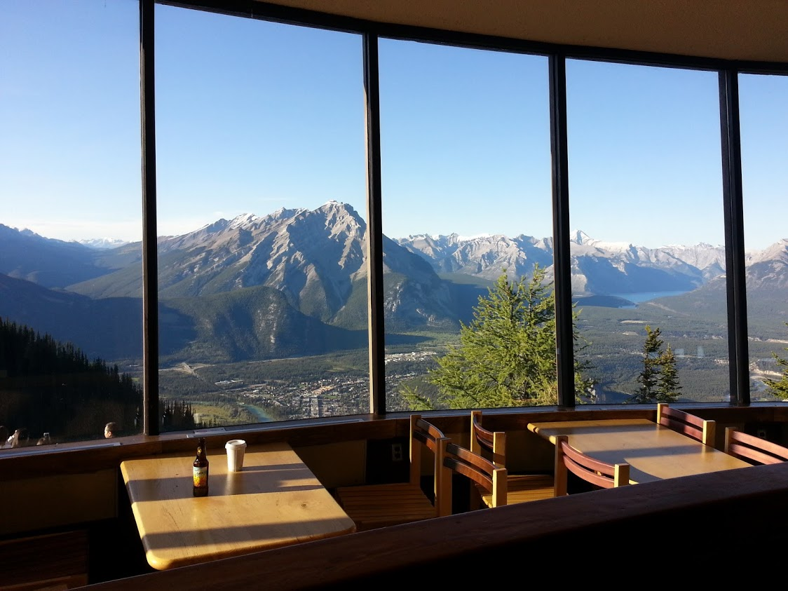 Northern Lights Cafe, Sulphur Mountain, Banff