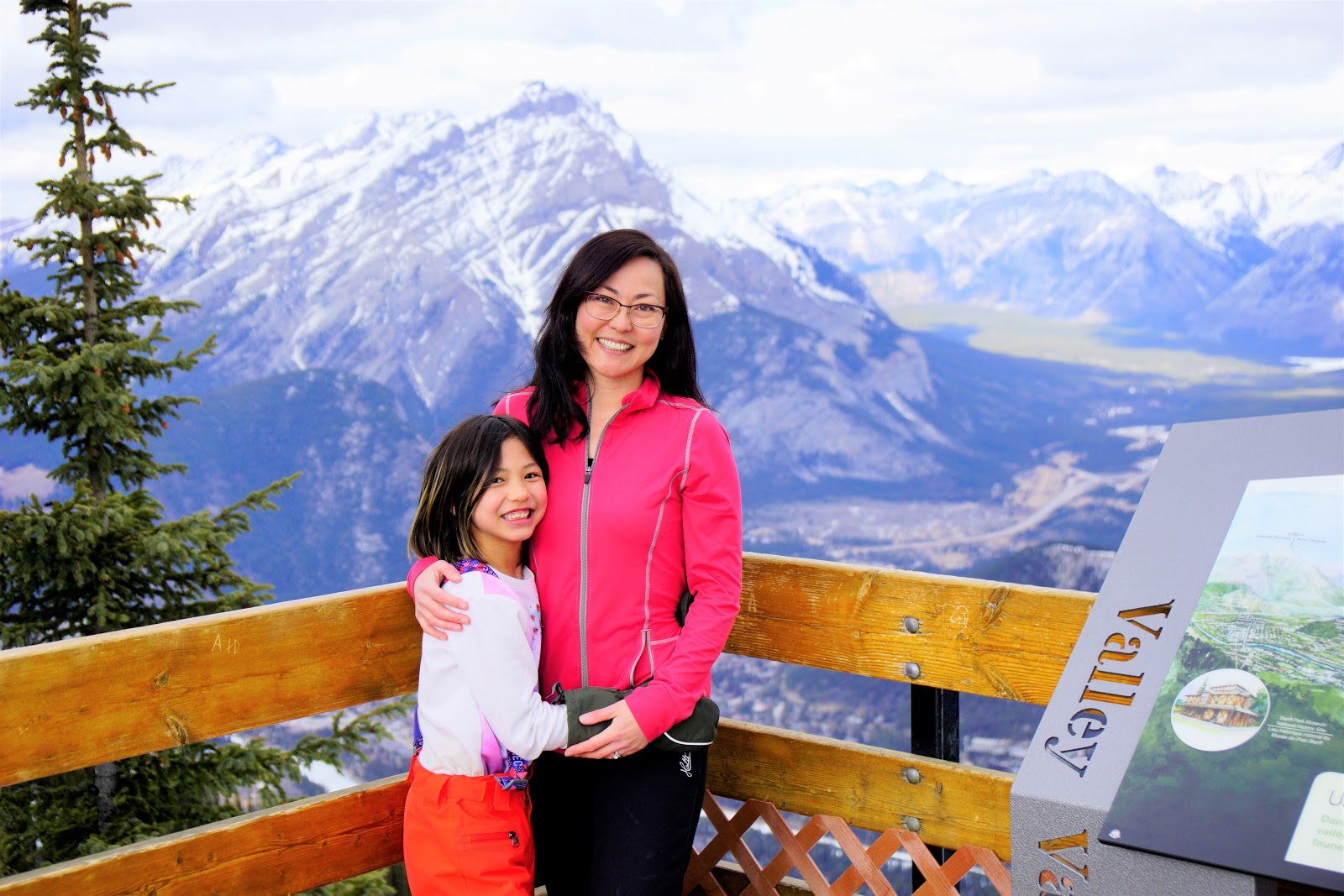 Sulphur Mountain Boardwalk, Banff