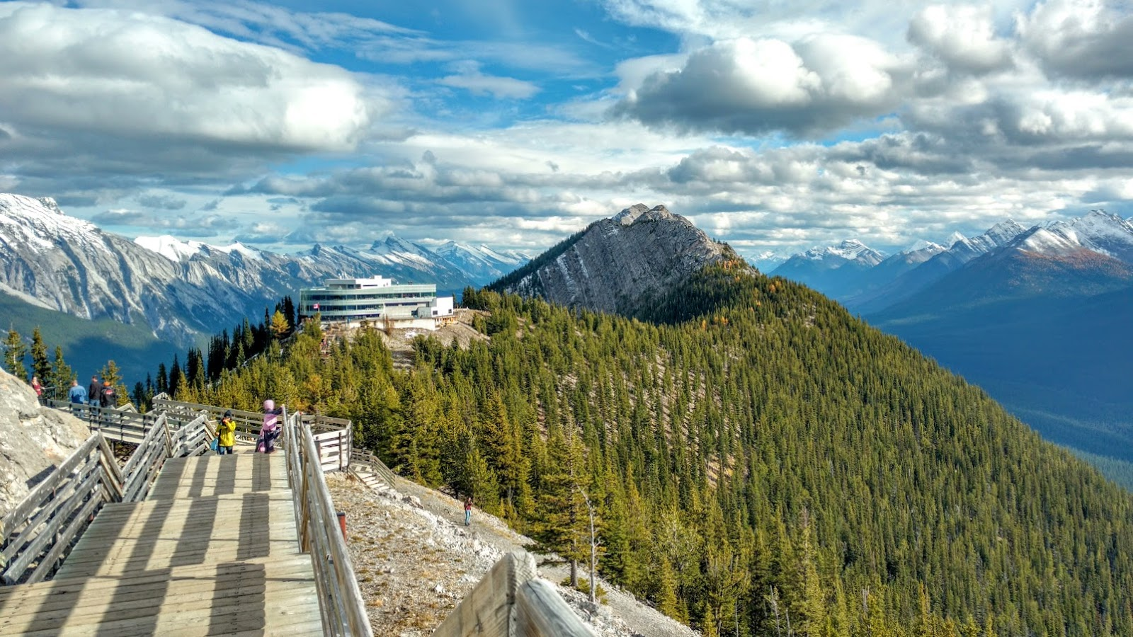 Sulphur Mountain Interpretive Boardwalk, Banff
