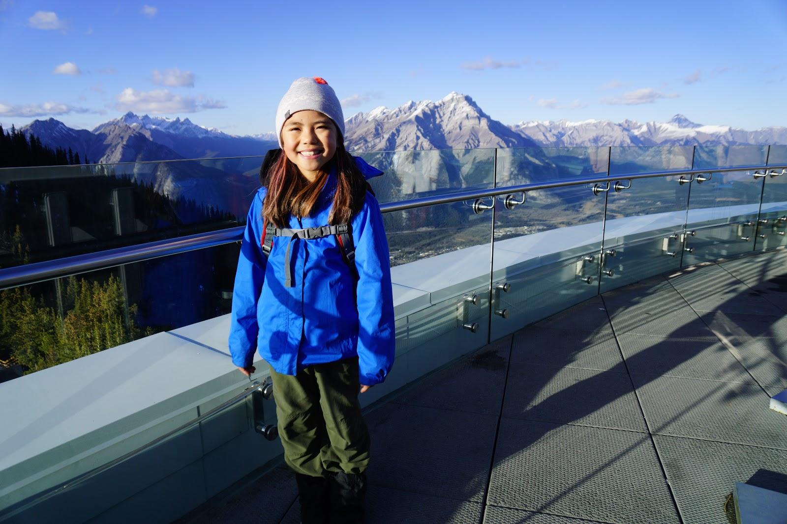Banff Gondola Upper Terminal Observation Deck