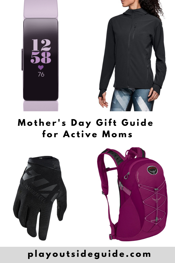 Mother's Day Gift Guide for Active Moms pinterest pin