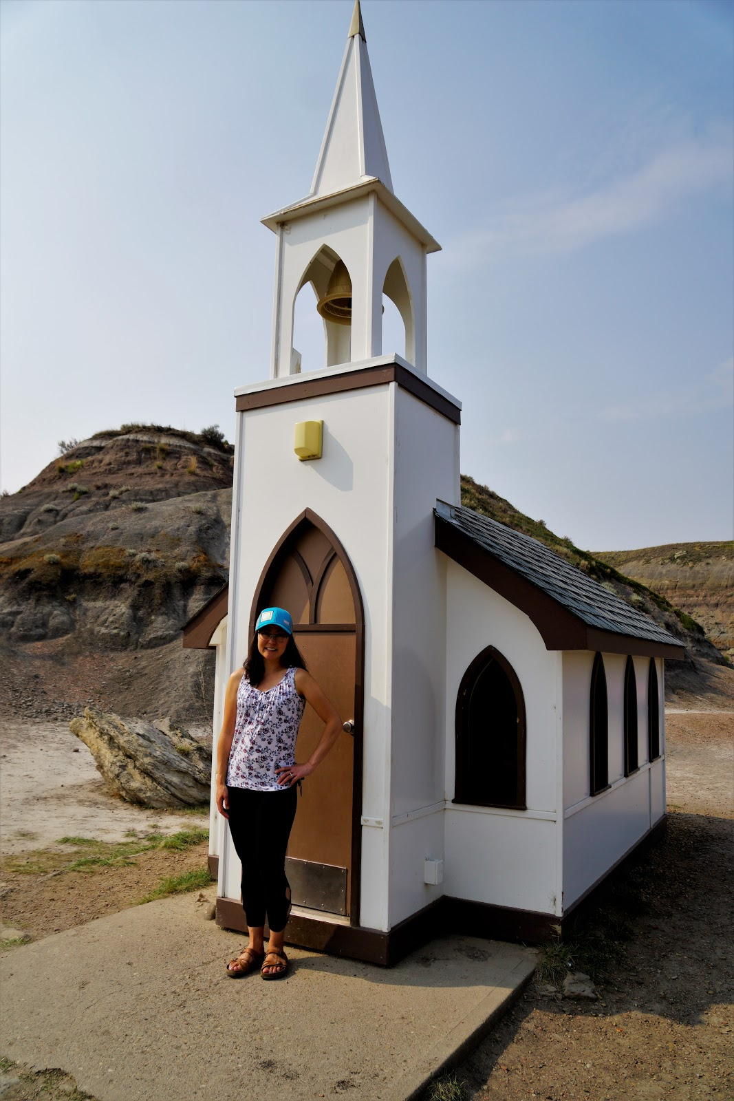 The Little Church, Drumheller, Alberta