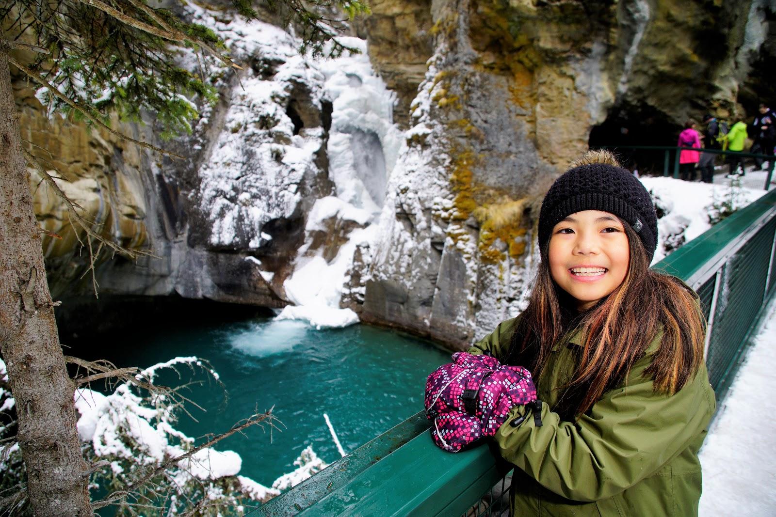 Lower Falls at Johnston Canyon, Banff