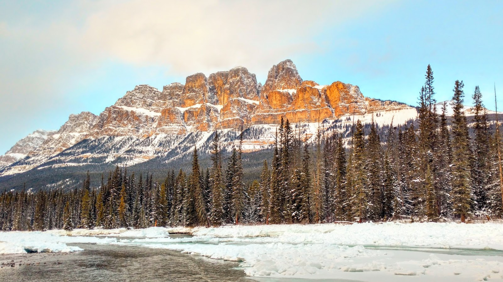 Castle Mountain, Banff