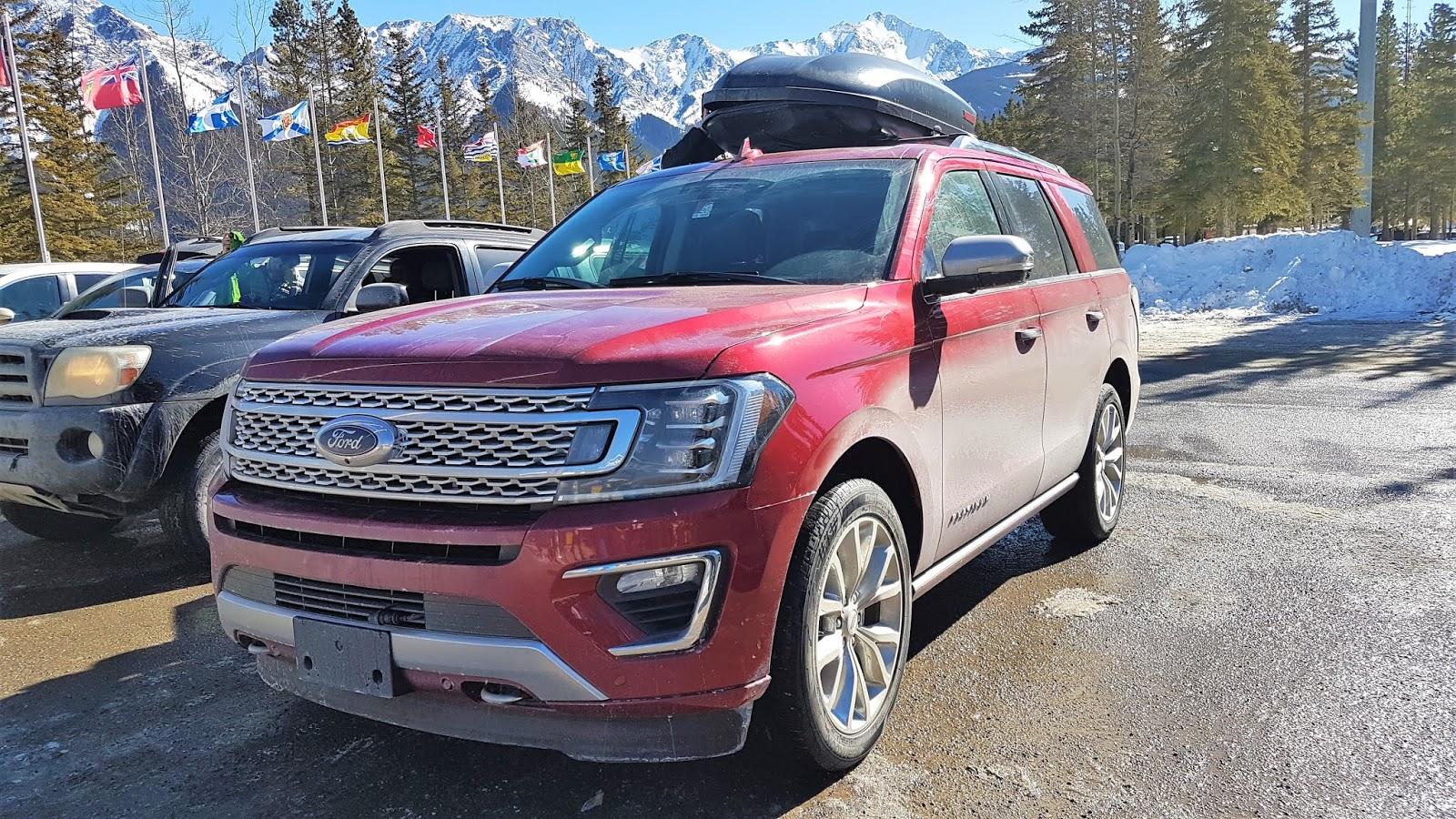 2019 Ford Expedition at Nakiska