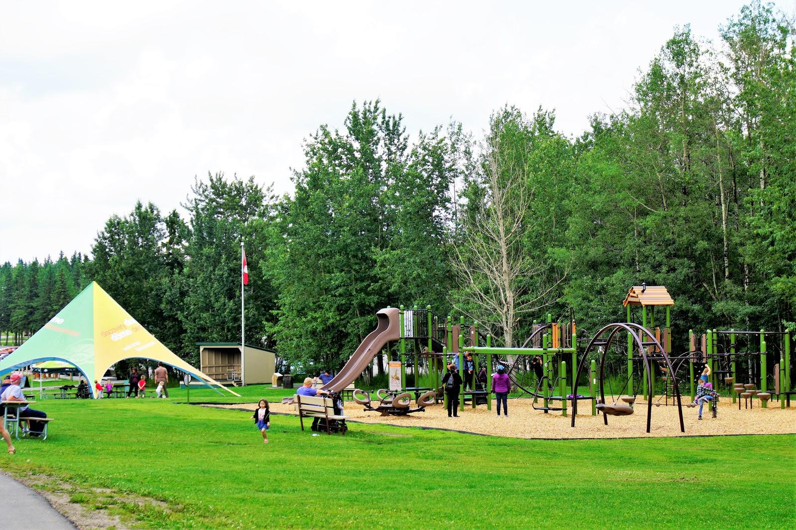 Astotin Lake Playground, Elk Island National Park