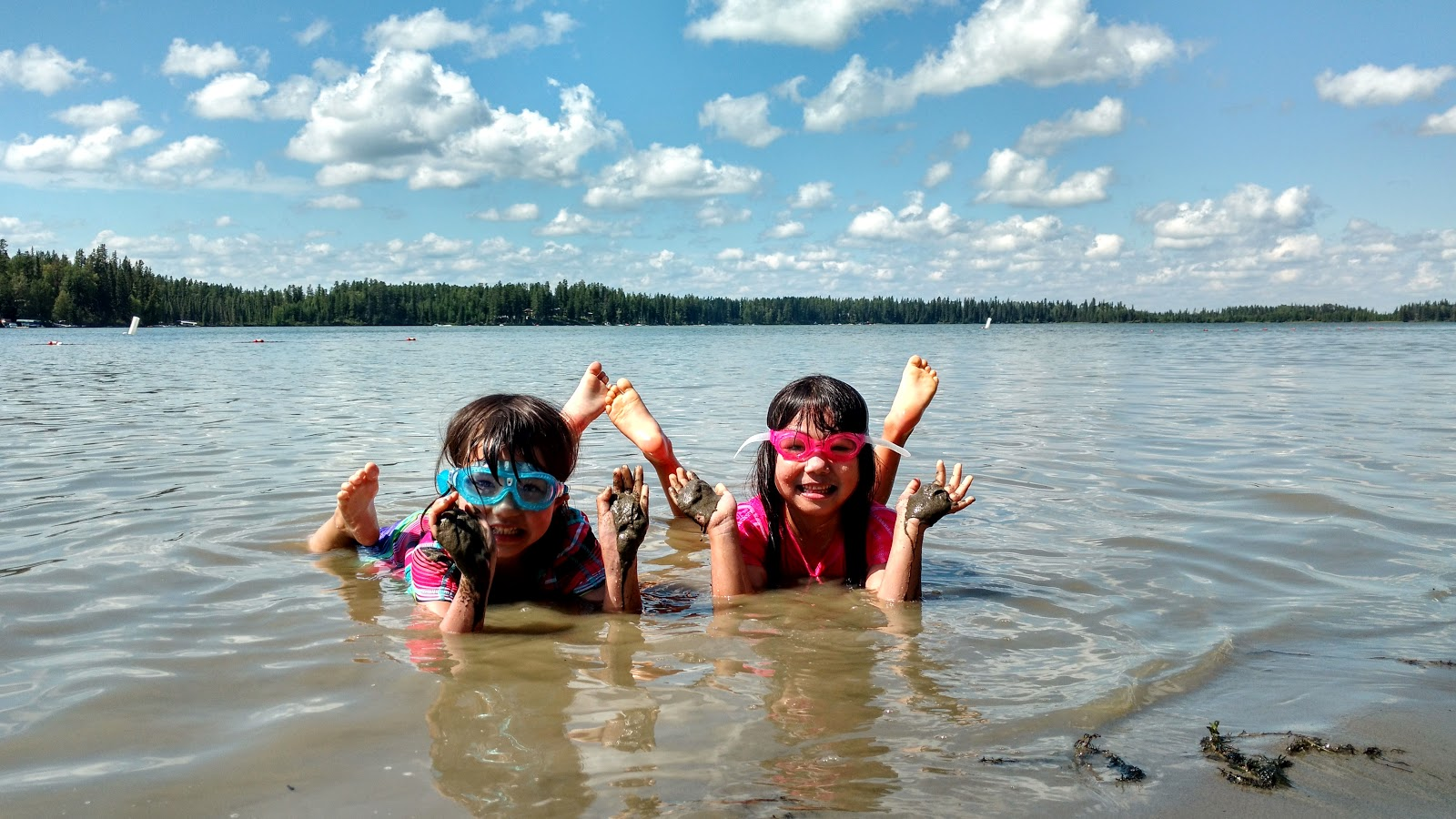 Crimson Lake Provincial Park Beach