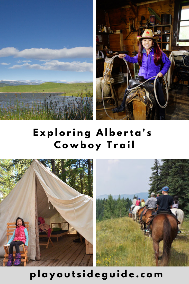 Exploring Alberta's Cowboy Trail pinterest pin