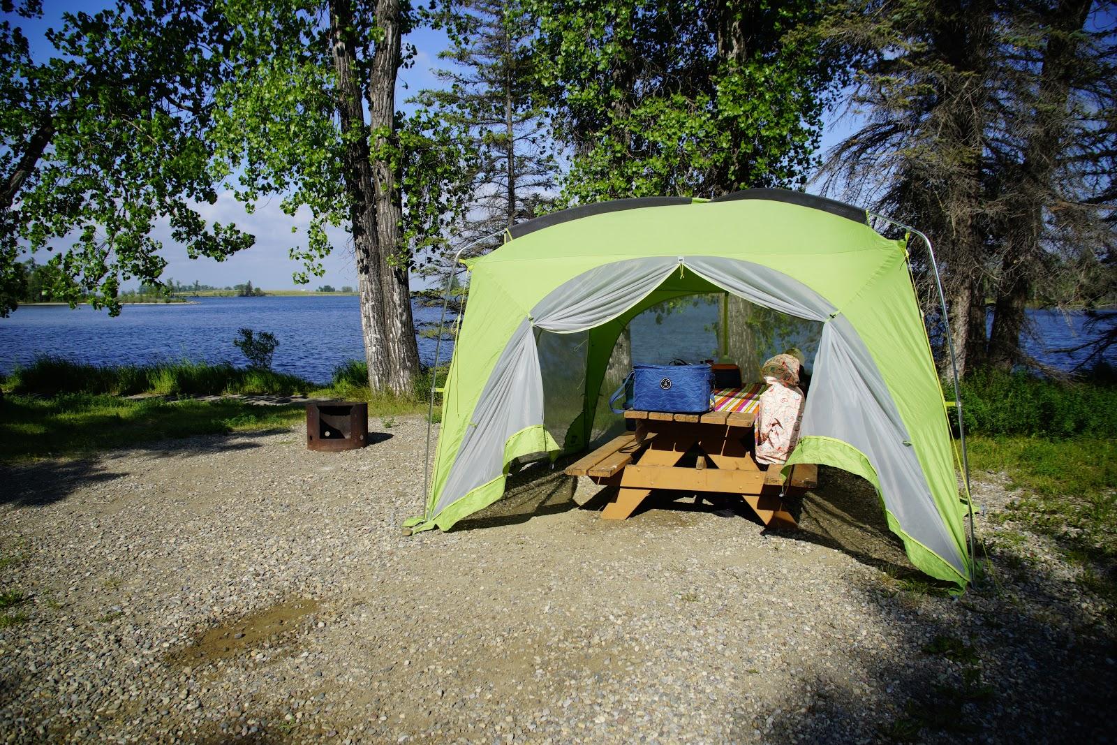 Park Lake Provincial Park Campground, Alberta