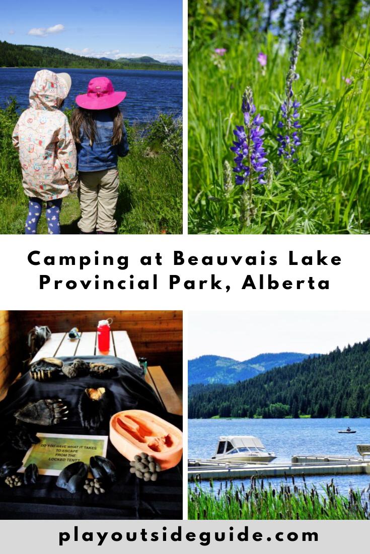 Camping at Beauvais Lake Provincial Park
