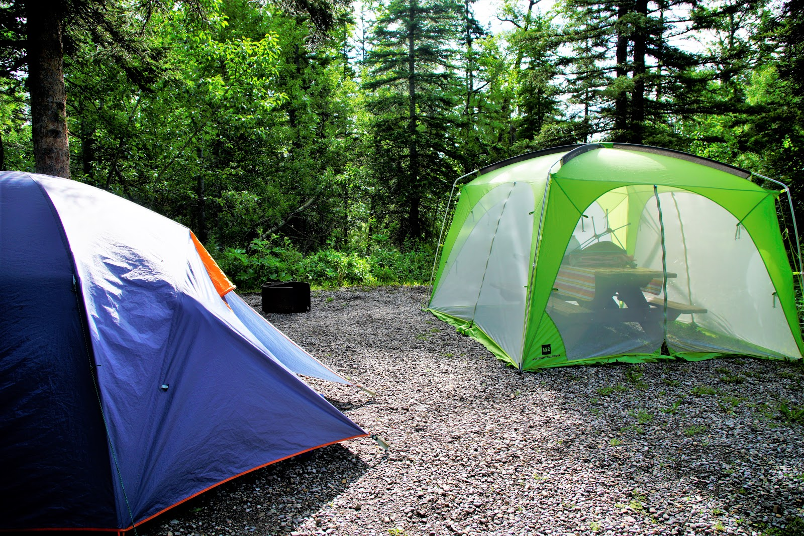 Beauvais Lake campsite