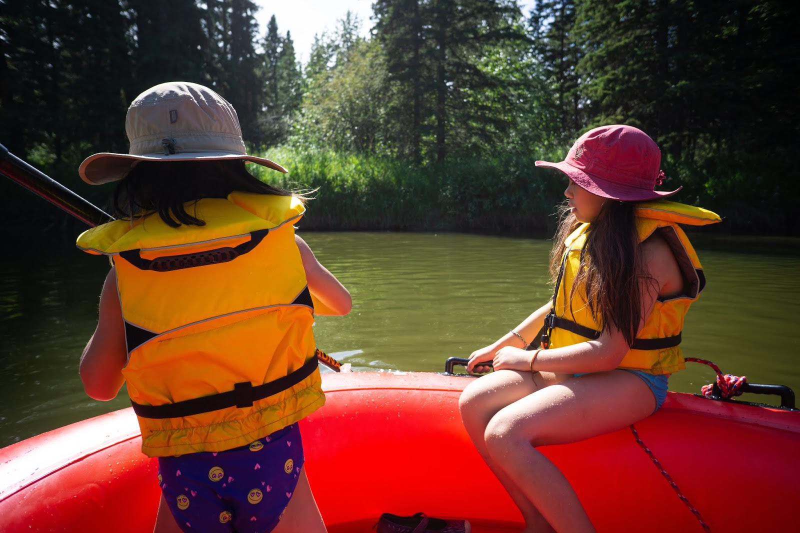 Rafting at Red Lodge Campground, Bowden
