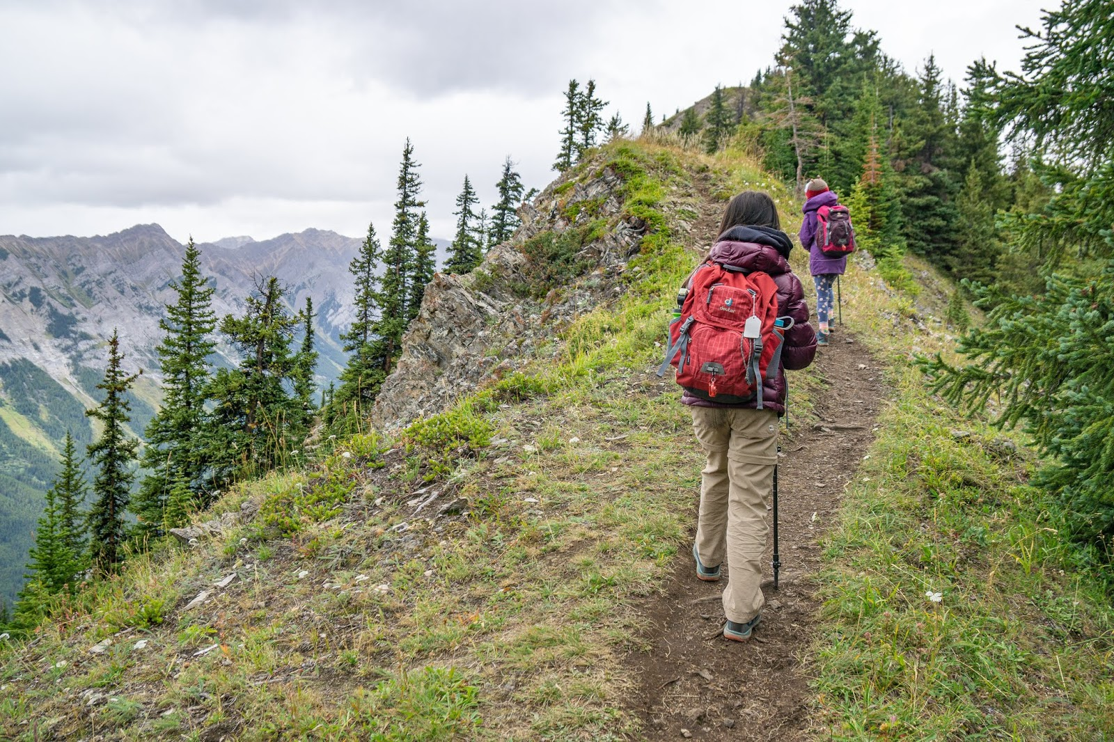 Almost at King Creek Ridge's first/false summit