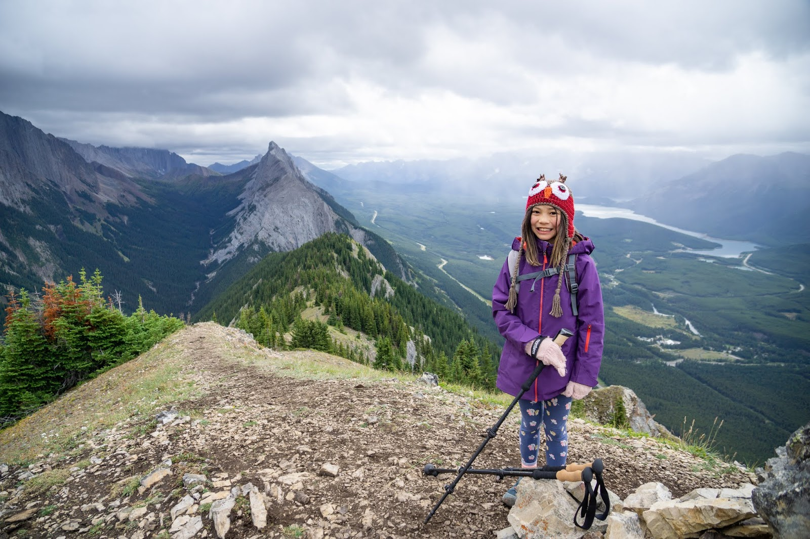 King Creek Ridge first/false summit