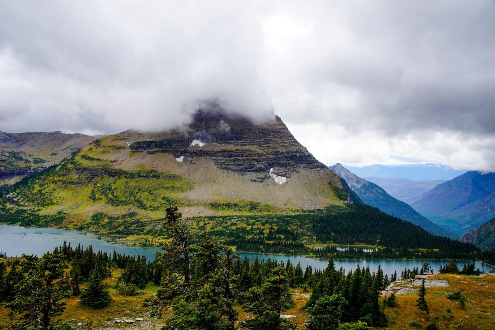 Hidden Lake and Bearhat Mountain, Glacier National Park