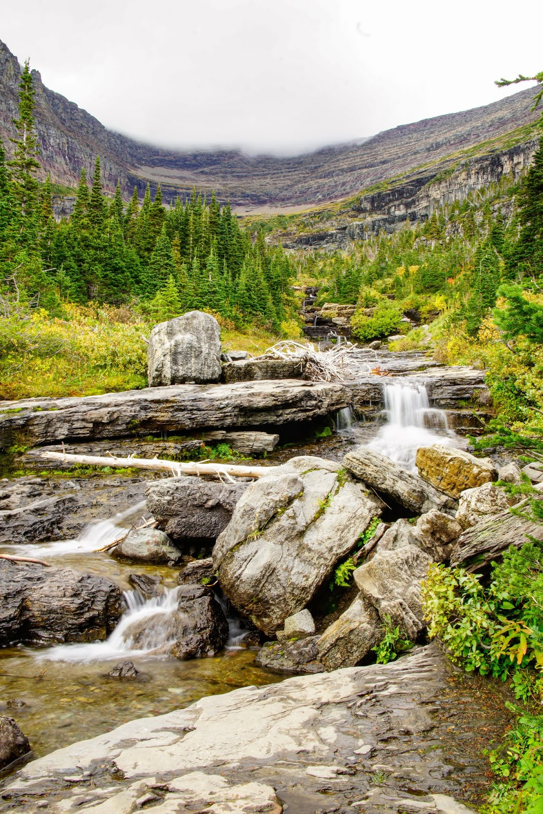 Lunch Creek, Glacier National Park