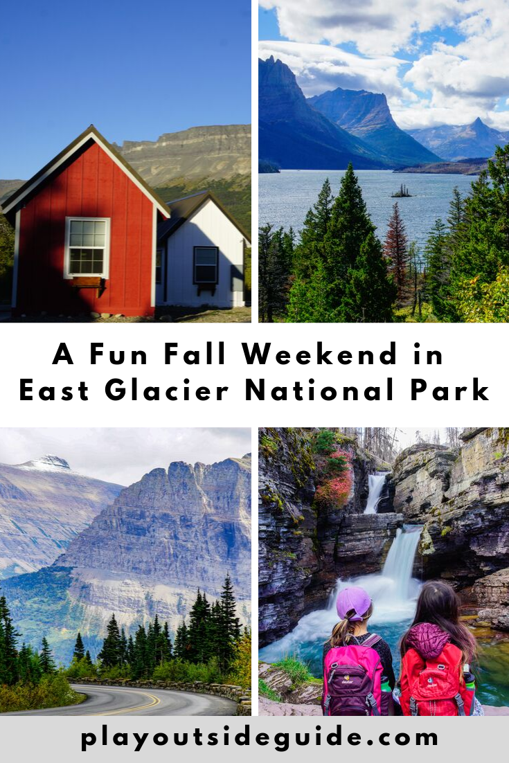 A fun fall weekend in East Glacier National Park
