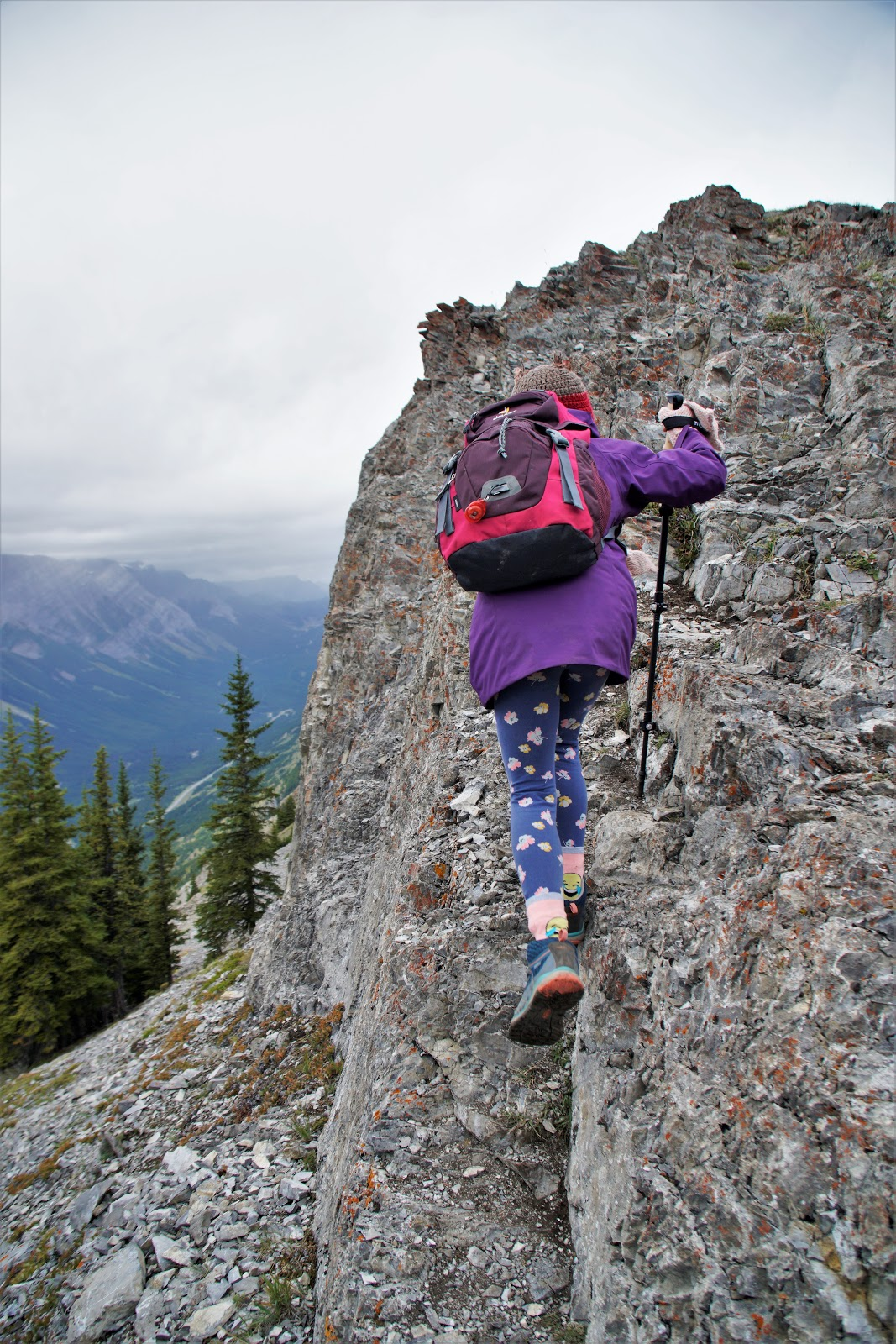 Short scramble to King Creek Ridge's summit