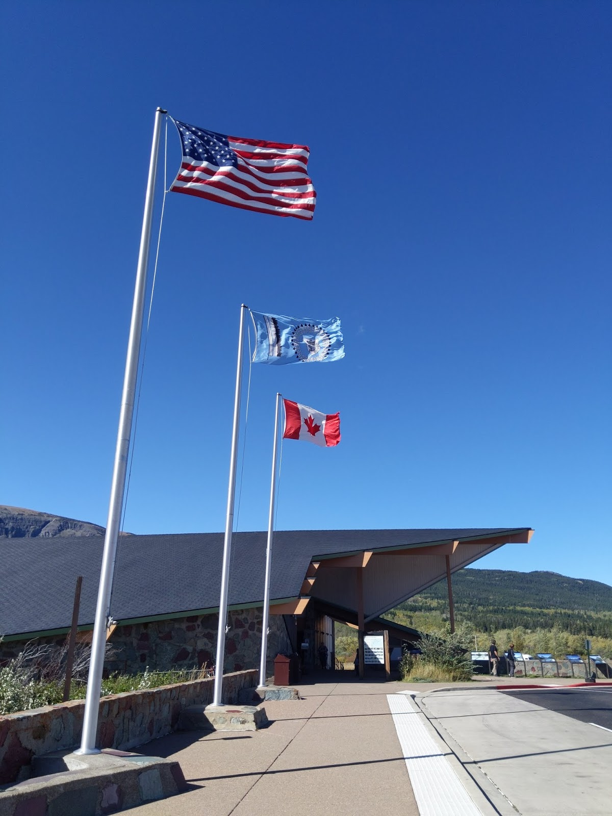 St. Mary Visitor Centre, Glacier National Park