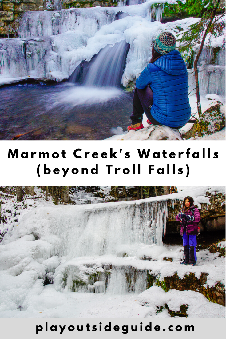 Marmot Creek's Waterfalls (beyond Troll Falls)
