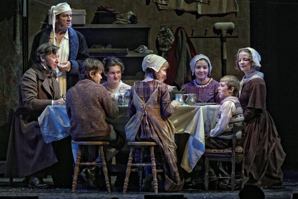 A Christmas Carol - Theatre Calgary - Image Credit Trudie Lee