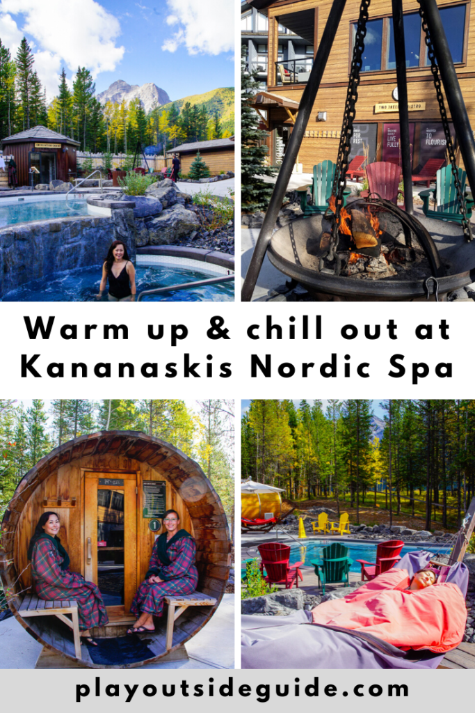 Warm up and chill out at Kananaskis Nordic Spa