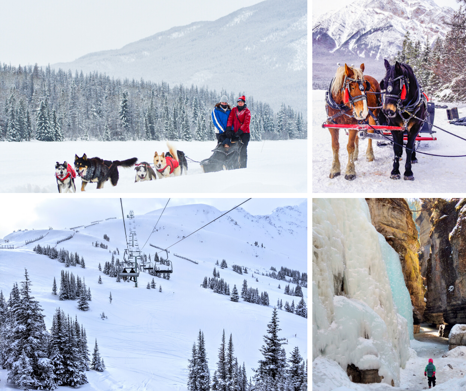 12 things to do in Jasper this winter