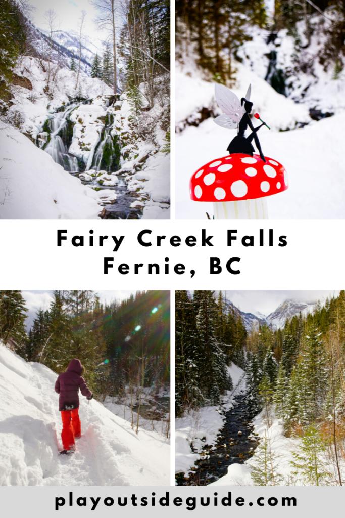 Fairy Creek Falls, Fernie, BC