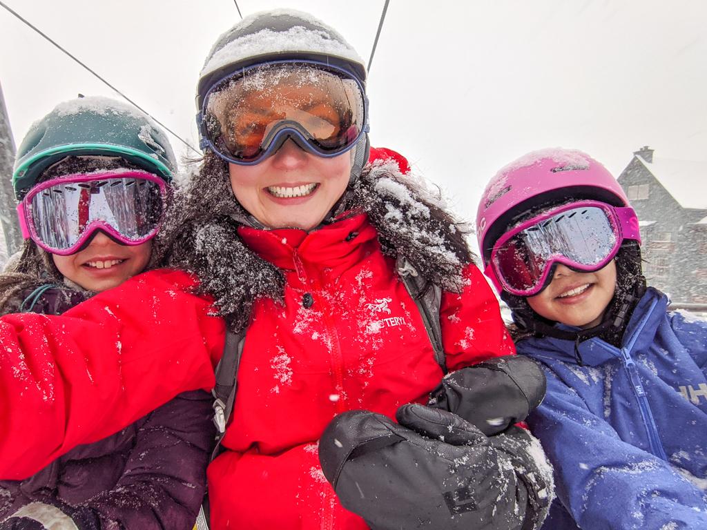 Powder day at Fernie Alpine Resort