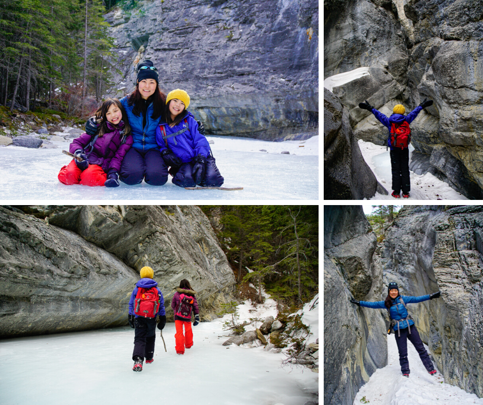 Jura Canyon Ice Walk, Exshaw, Alberta