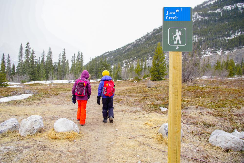 Jura Creek Trail, Exshaw