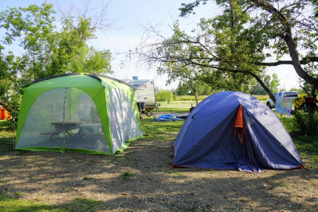 Kinbrook Island Provincial Park Campsite