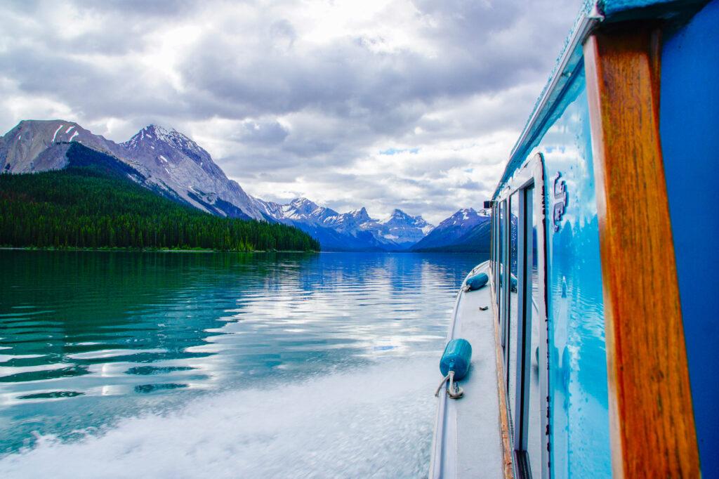 Maligne Lake Cruise, Jasper National Park