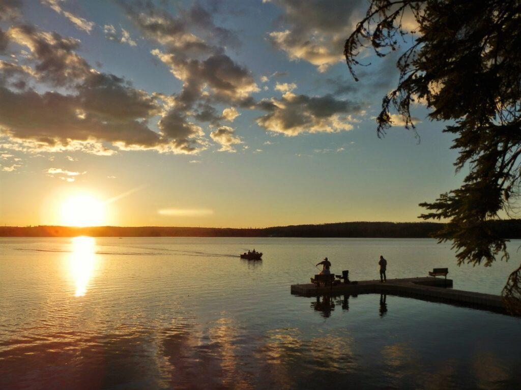 carson-pegasus-provincial-park-sunset