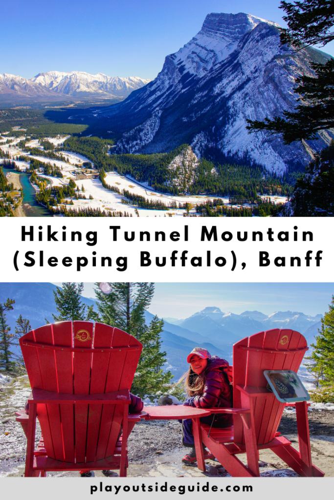 Hiking Tunnel Mountain (Sleeping Buffalo Mountain), Banff