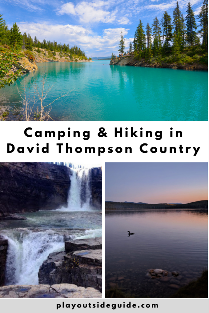 Camping and hiking in David Thompson Country