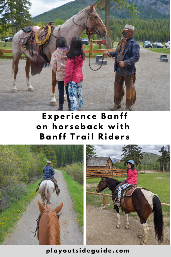 Experience Banff on horseback with Banff Trail Riders
