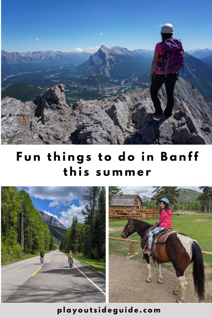 Fun things to do in Banff this summer