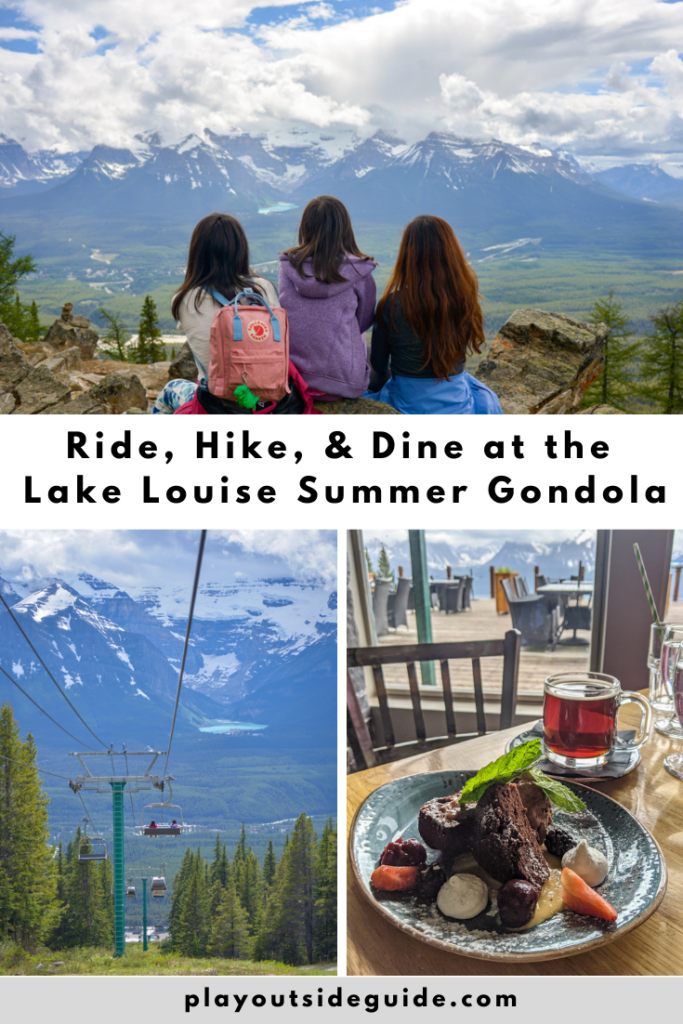 Ride, hike, and dine at the Lake Louise Summer Gondola