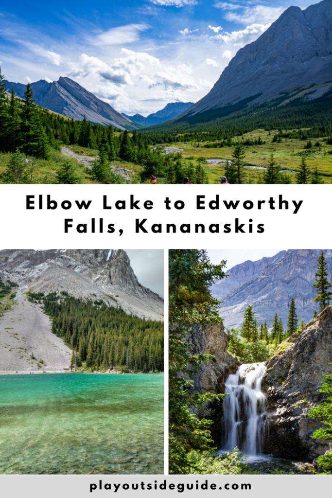 Hiking to Edworthy Falls