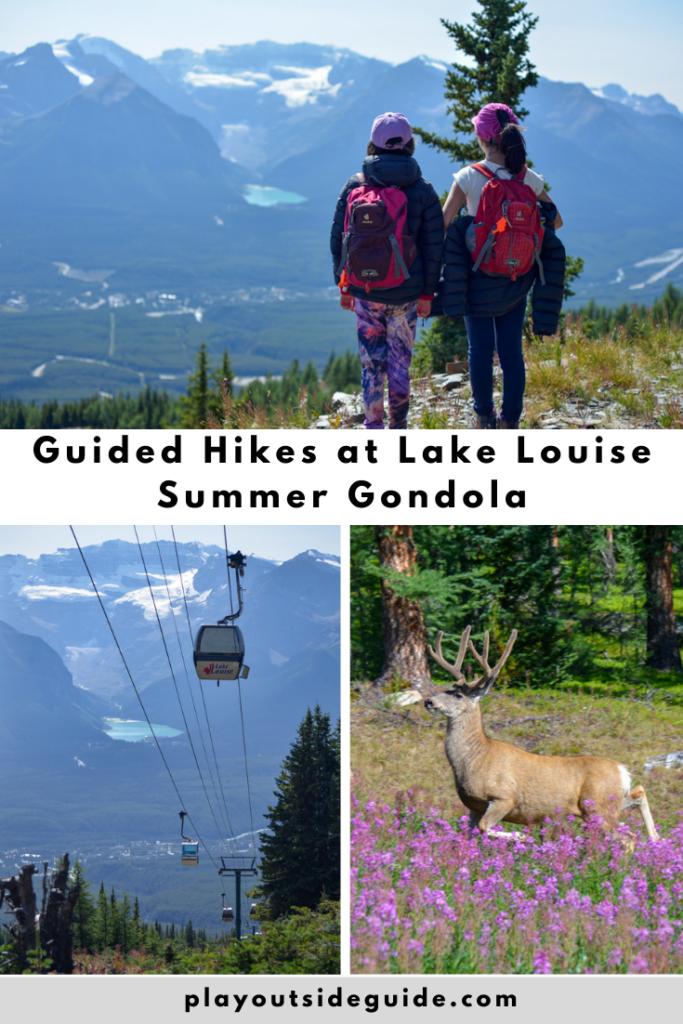 Guided Hikes at Lake Louise Summer Gondola